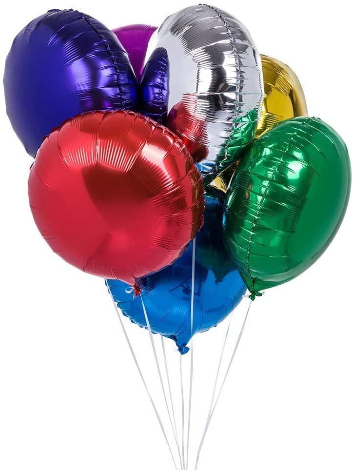 Foil Balloon Bouquet - 7 Balloons